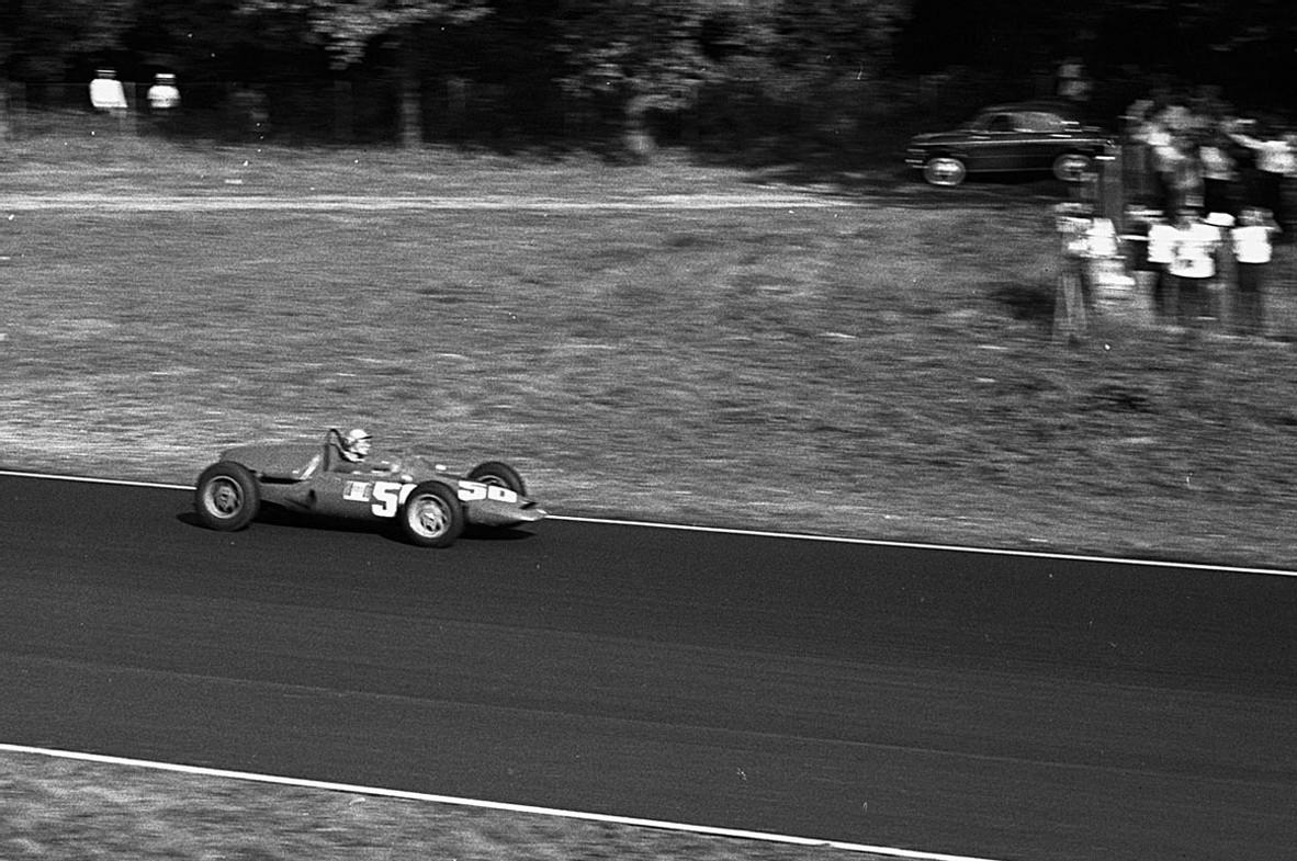 "Нино Ваккарелла, ""Де Томазо Ф1 003 Альфа Ромео"", БП Италии 1961"