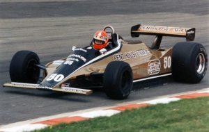 "Руперт Киган, ""РАМ Уильямс FW07 Форд"", БП Великобритании 1980"