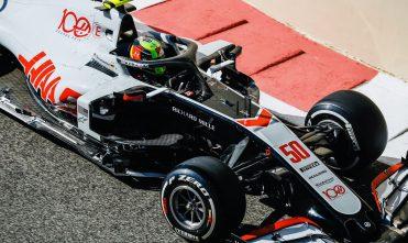 Мик Шумахер во время Гран-при Абу-Даби