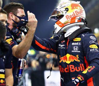 Макс Верстаппен после квалификации Гран-при Абу-Даби