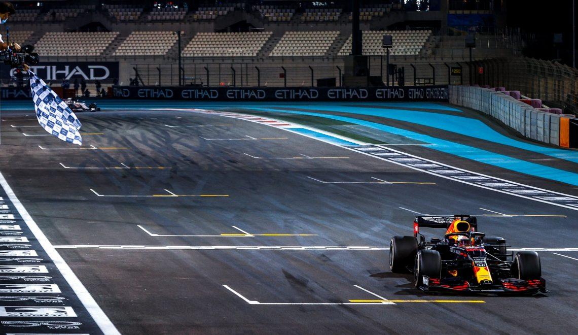 Победный финиш Макса Верстаппена на Гран-при Абу-Даби 2020 года