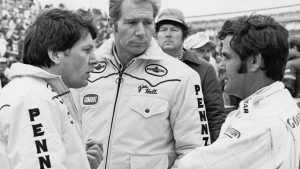 Команда «Чапаррал» сезона'79: Джон Барнард, Джим Холл и Эл Анзер