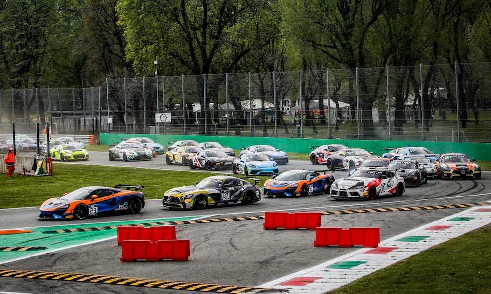 Европейская серия ГТ4 в Монце