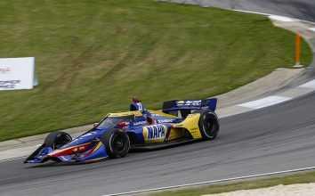 Александр Росси во время тренировок Гран-при Алабамы
