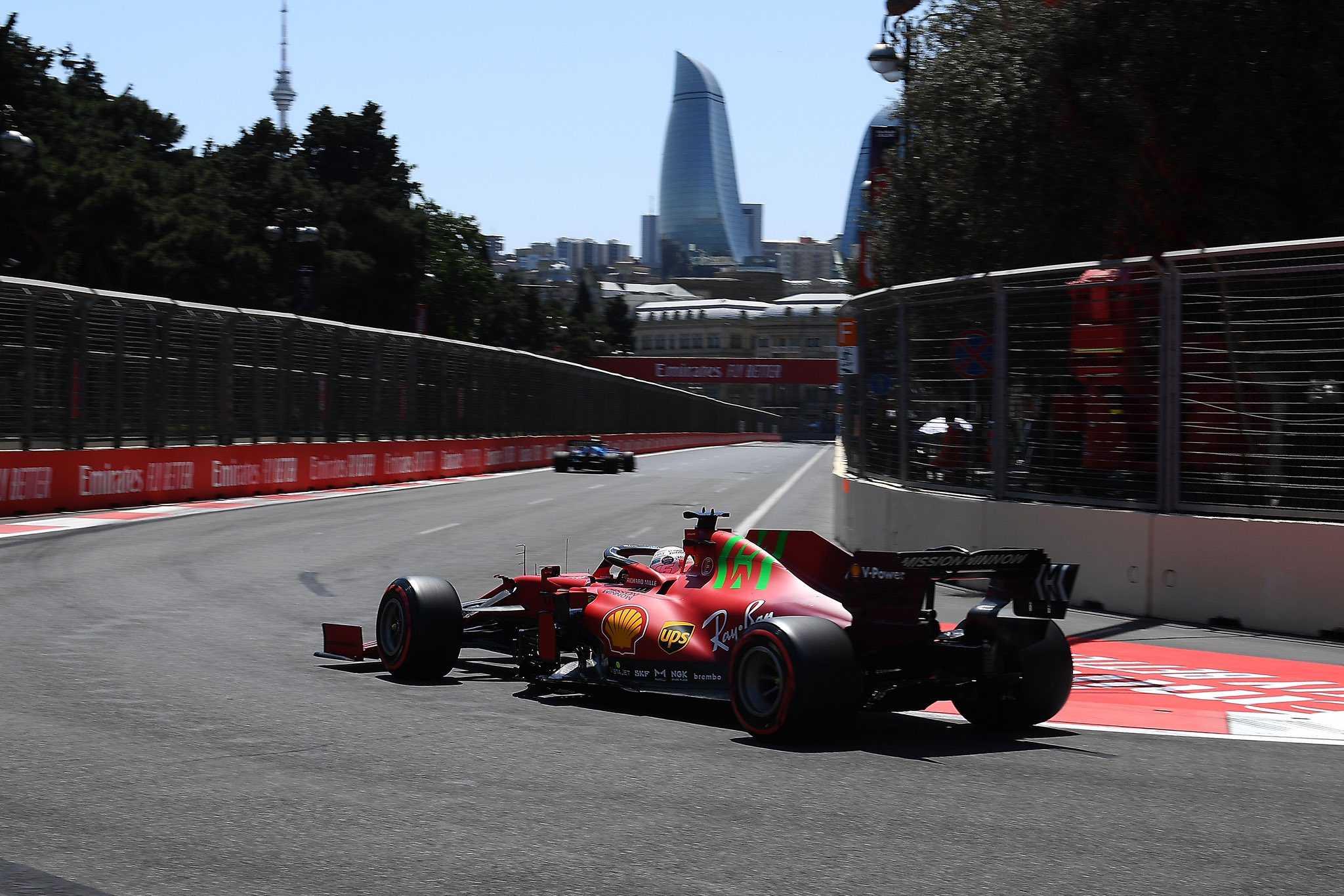 Шарль Леклер в Баку